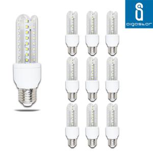 10 LAMPADE LAMPADINA LED  12W  LUCE FREDDA  BASSO CONSUMO  E27