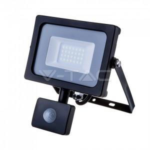 V-TAC OPTONICA FARO FARETTO LED SMD 10W 20W 30W 50W SENSORE SLIM DA ESTERNO IP65-10 Watt-FREDDA