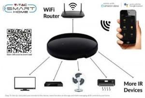 Smart Home WiFi universale infrarossi Telecomando WiFi-IR Telecomando con Alexa Google home