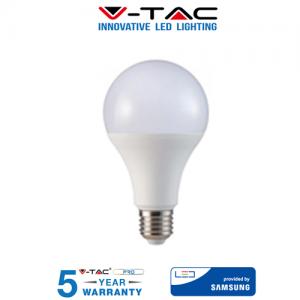 LAMPADINA LED V-Tac Bulbo E27 18W 125W Lampade Luce Calda Naturale Fredda SAMSUNG