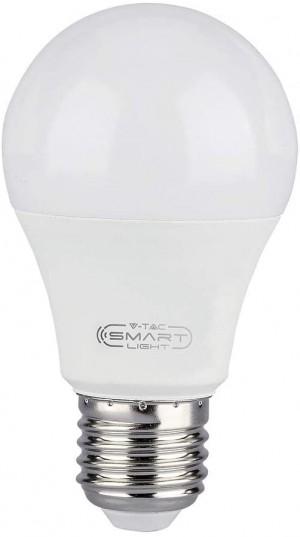 LAMPADINA LED SMART MULTICOLORE E27 10W RGB ALEXA E GOOGLE HOME CONTROLLO REMOTO