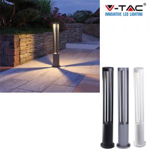 Lampione lampioncino da esterno palo illuminazione giardino 80cm 220v 10W