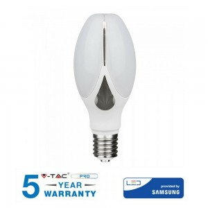LAMPADINA LED E27 36W V-TAC SAMSUNG CHIP VT-240 OLIVE LAMP SKU 283 / 284 / 285